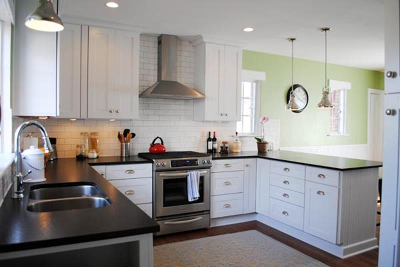 BEFORE AND AFTER 12 Kitchen Remodeling Projects-4b