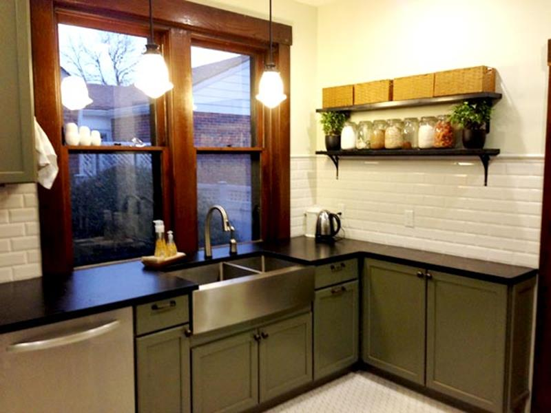 BEFORE AND AFTER 12 Kitchen Remodeling Projects-6b