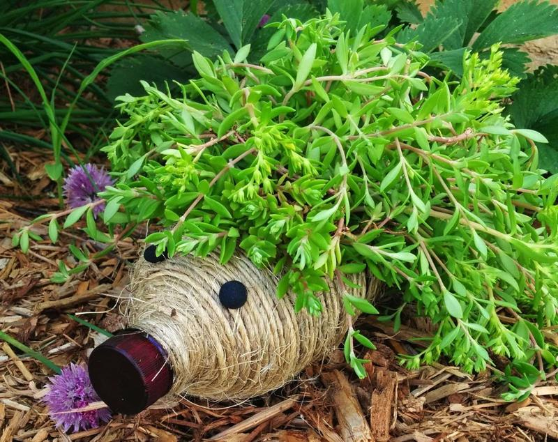 16 Amazing Ways to Enhance Your Garden with Recycled Items-16