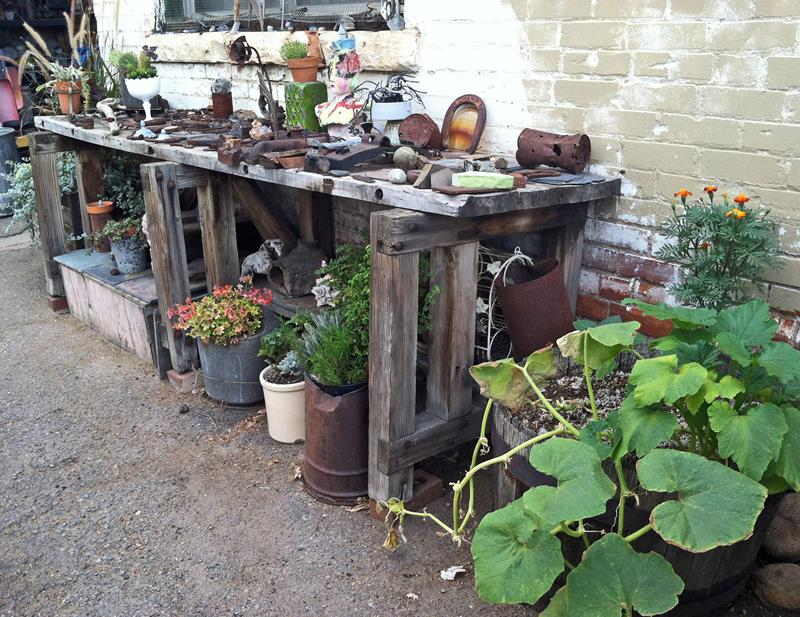 16 Amazing Ways to Enhance Your Garden with Recycled Items-8