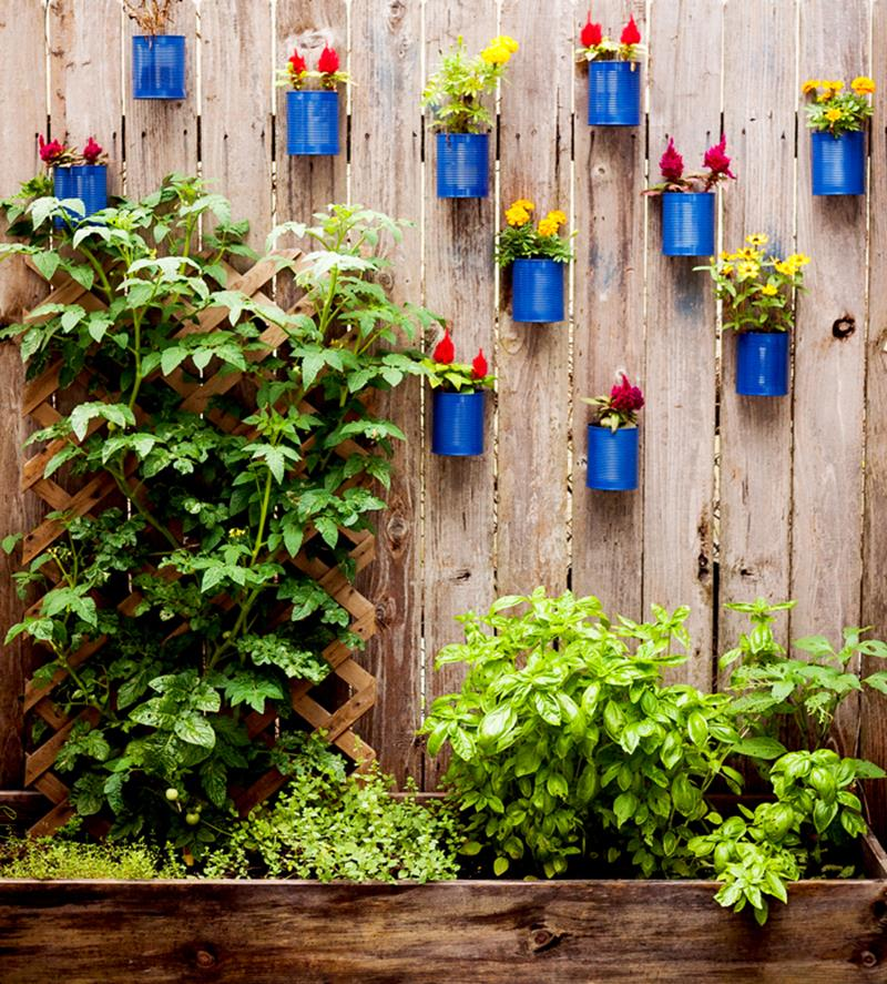 17 Charming Fence Planter Ideas for Your Home-8