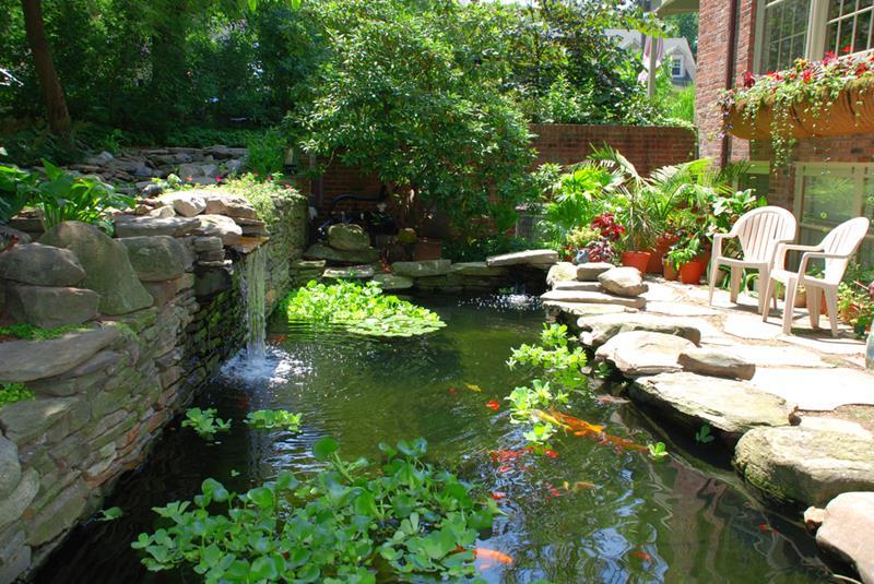 18 Wonderful Ideas for a Garden Pond-13