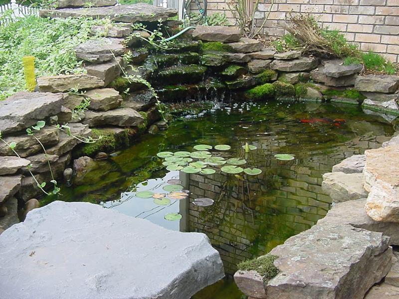 18 Wonderful Ideas for a Garden Pond-17