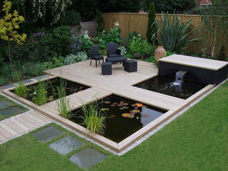 18 Wonderful Ideas for a Garden Pond-18