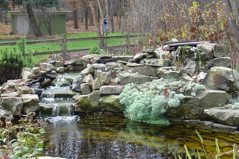 18 Wonderful Ideas for a Garden Pond-9