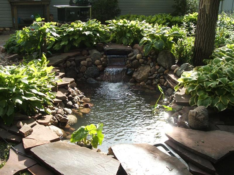 18 Wonderful Ideas for a Garden Pond-title
