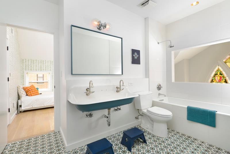 23 Amazing Ideas For Bathroom Color Schemes-19