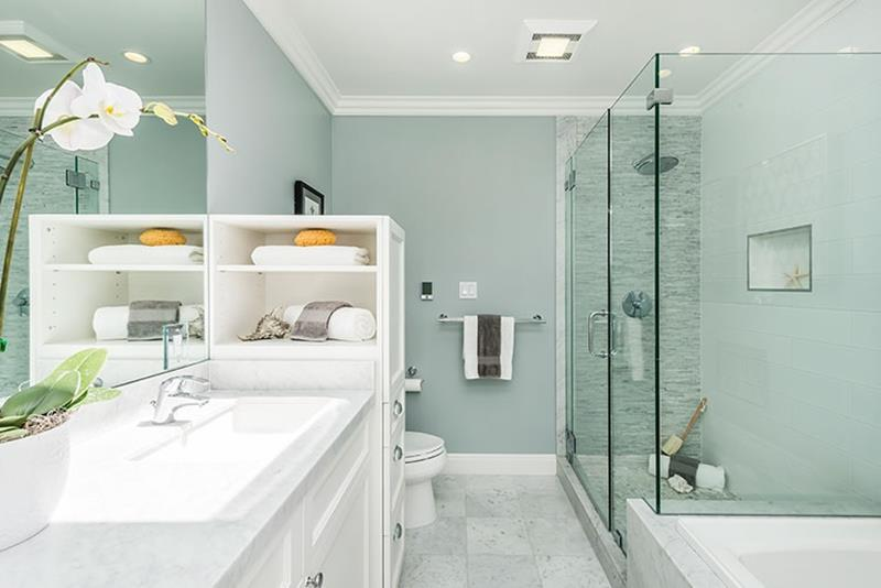 23 Amazing Ideas For Bathroom Color Schemes-21