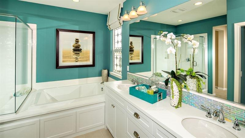 23 Amazing Ideas For Bathroom Color Schemes-22