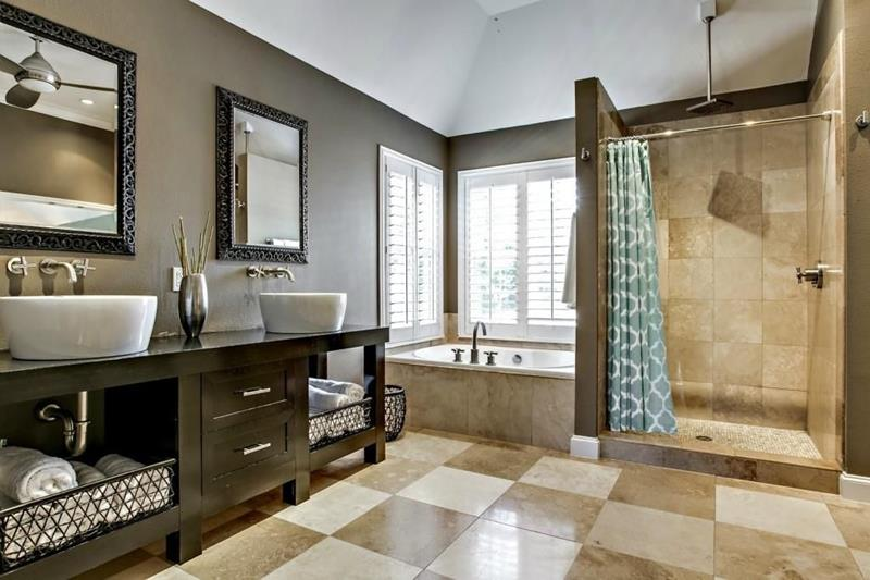 23 Amazing Ideas For Bathroom Color Schemes-4