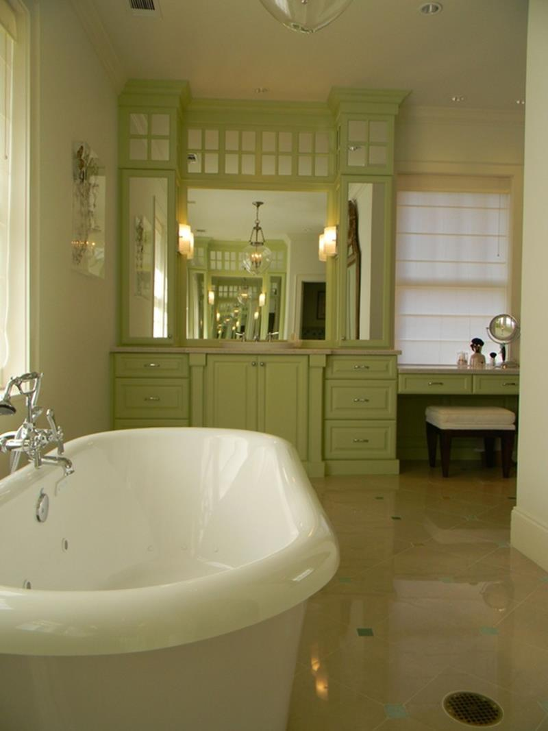 23 Amazing Ideas For Bathroom Color Schemes-7