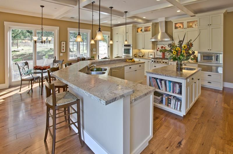 24 Beautiful Granite Countertop Kitchen Ideas-2