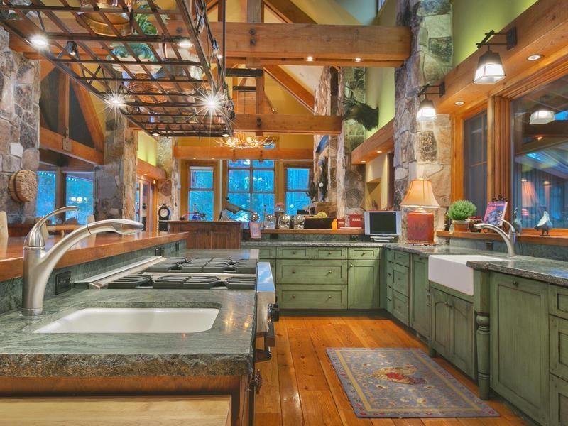 24 Beautiful Granite Countertop Kitchen Ideas-22