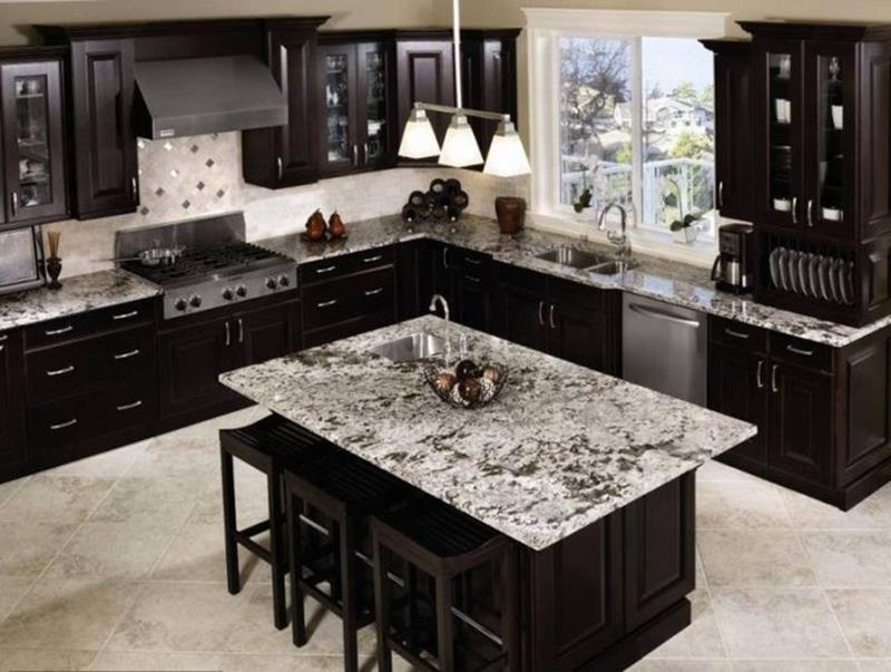 24 Beautiful Granite Countertop Kitchen Ideas-9