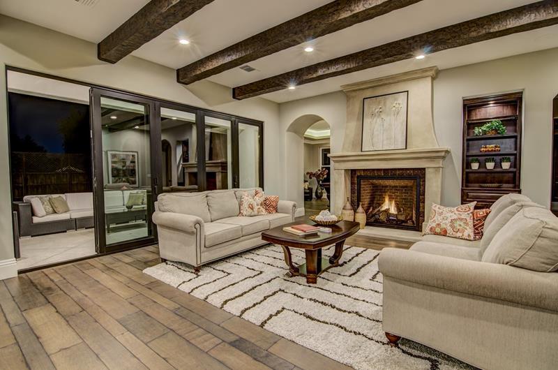 25 Gorgeous Living Room Ceiling Design Ideas-12