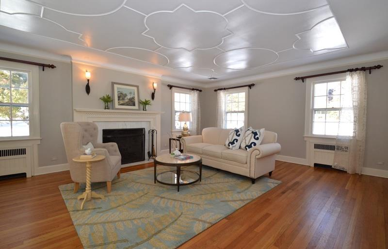 25 Gorgeous Living Room Ceiling Design Ideas-9