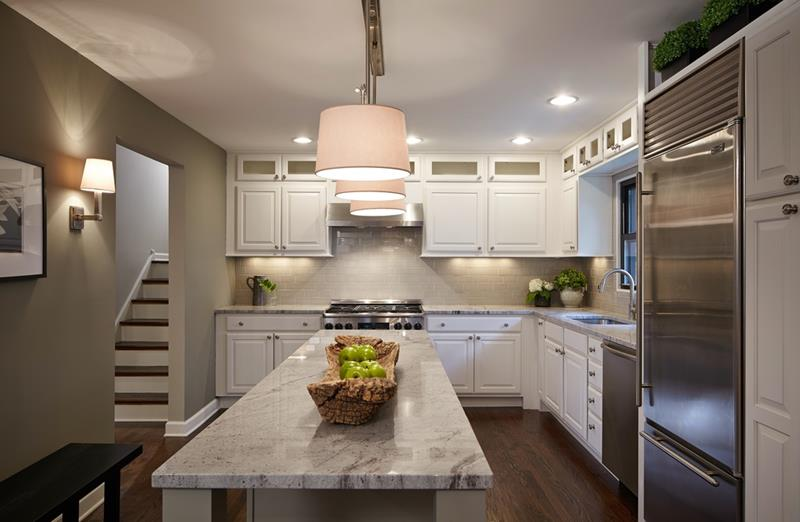 The 25 Most Gorgeous White Kitchen Designs For 2018-1