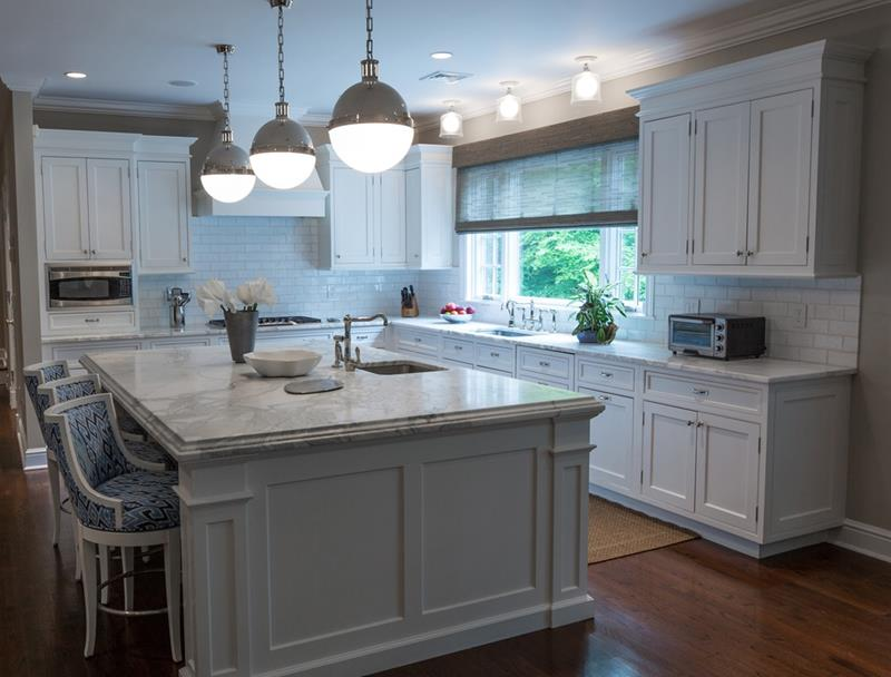 The 25 Most Gorgeous White Kitchen Designs For 2018-15