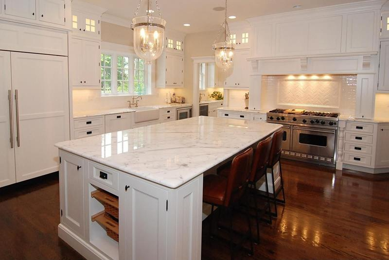 The 25 Most Gorgeous White Kitchen Designs For 2018-2