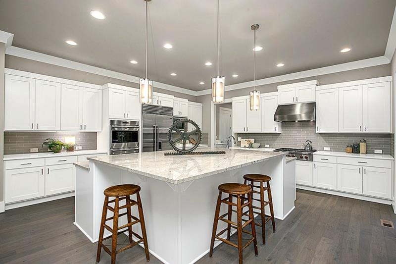 The 25 Most Gorgeous White Kitchen Designs For 2018-22