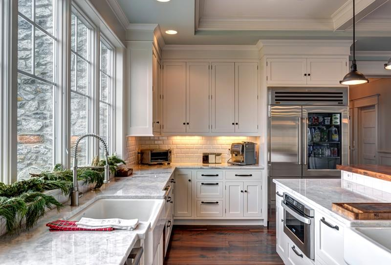 The 25 Most Gorgeous White Kitchen Designs For 2018-25