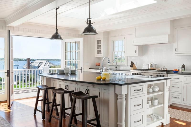 The 25 Most Gorgeous White Kitchen Designs For 2018-8