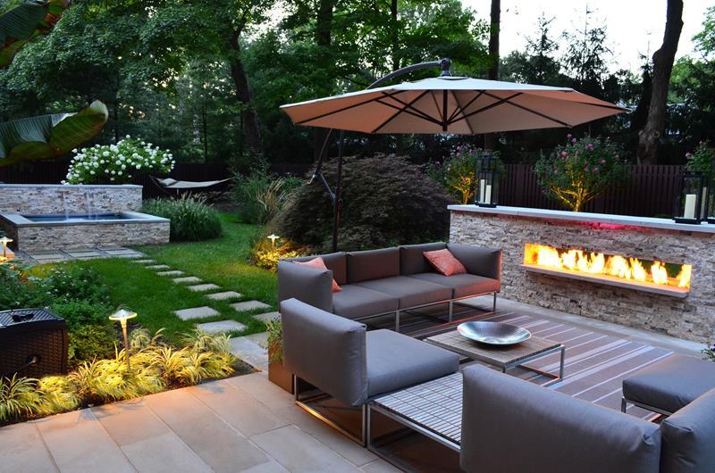 23 Backyard Fire Pit Designs-11