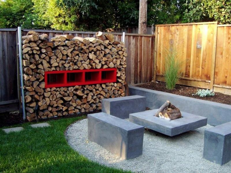 23 Backyard Fire Pit Designs-7