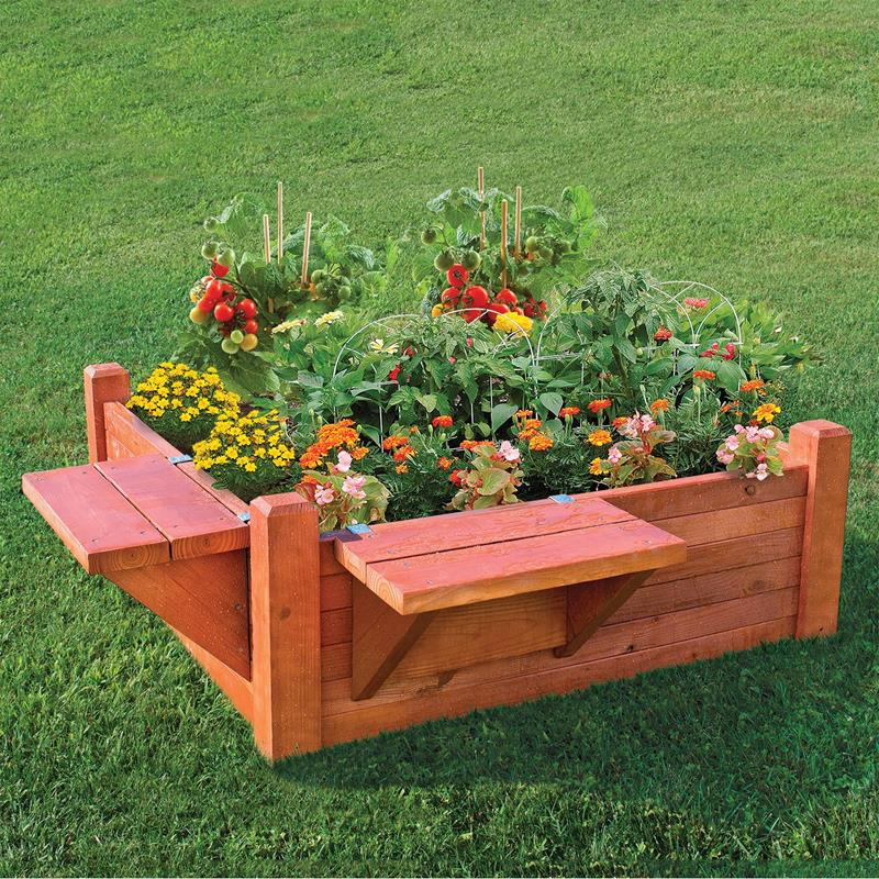 20 Raised Bed Garden Designs And Beautiful Backyard: 24 Amazing Ideas For Wooden Raised Garden Beds