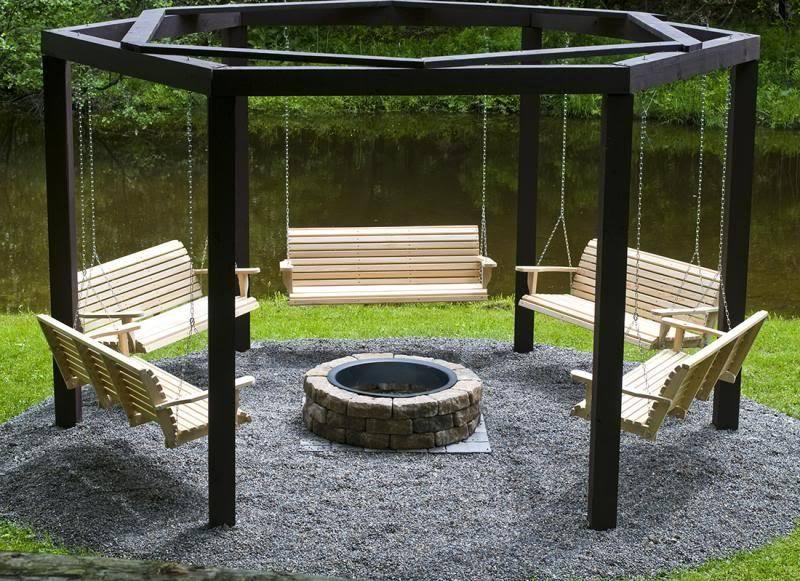 24 Backyard Fire Pits Perfect for Summer-12
