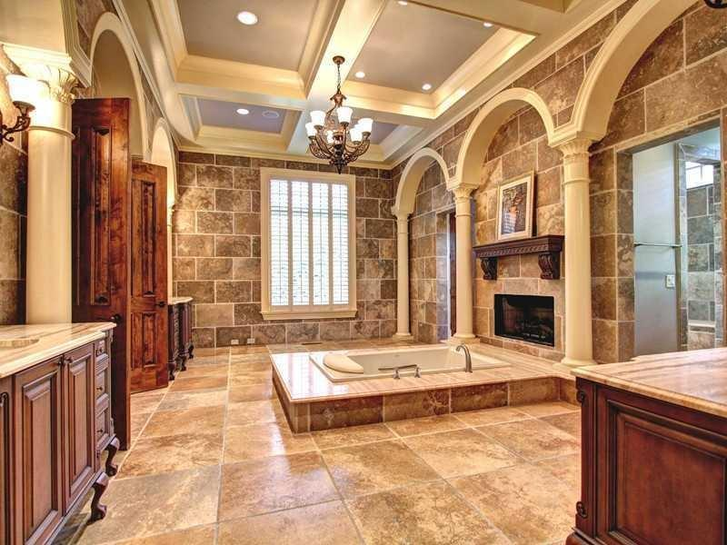 24 Beautiful Ideas for Master Bathroom Windows-15
