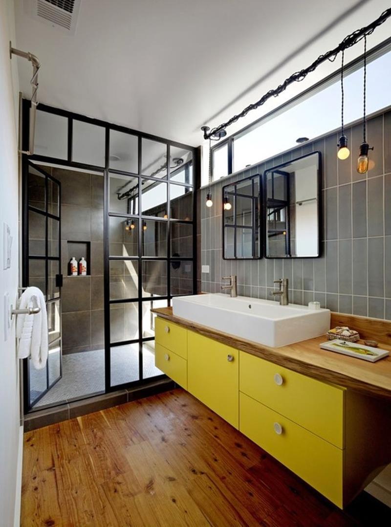 24 Beautiful Ideas for Master Bathroom Windows-16