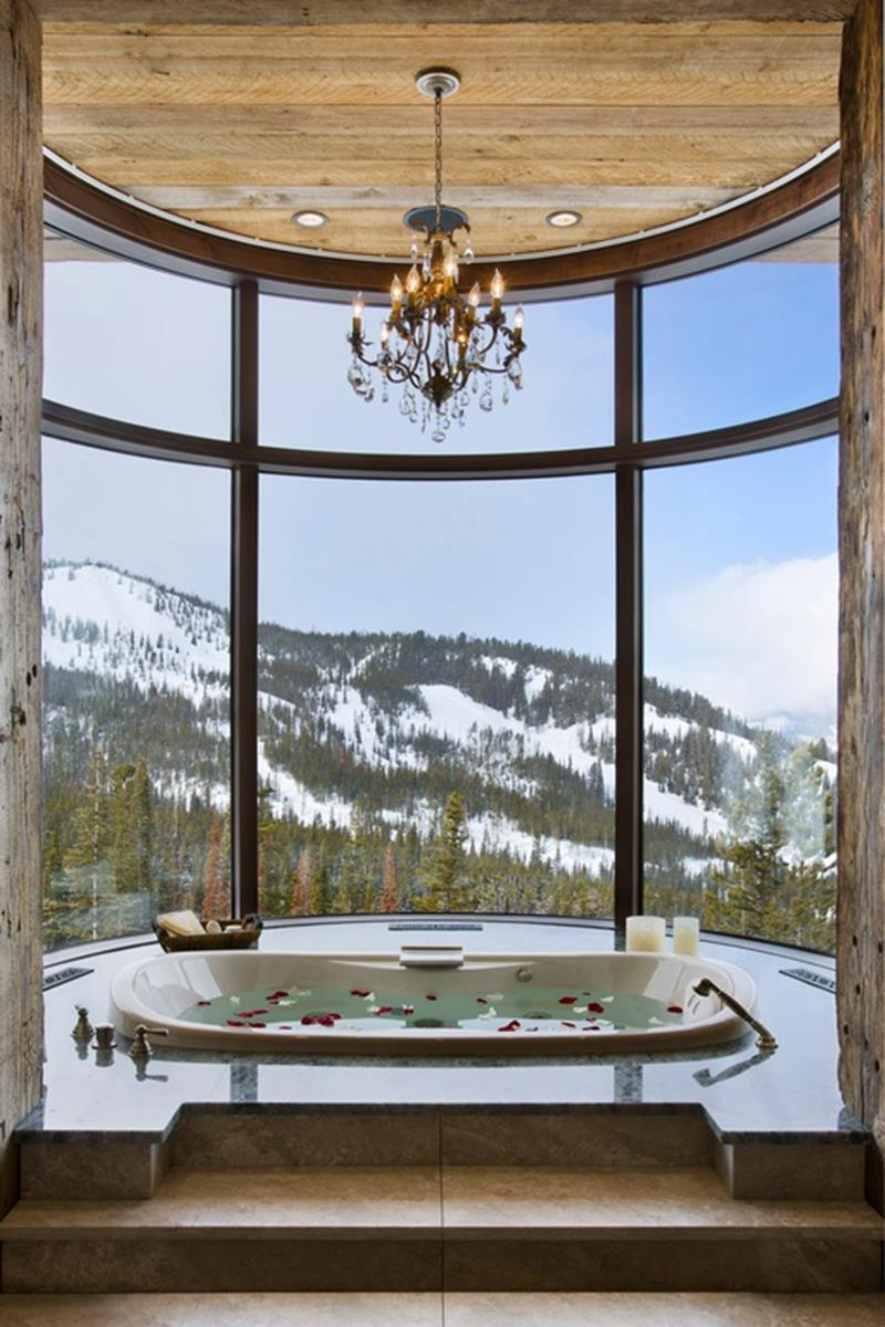 24 Beautiful Ideas for Master Bathroom Windows-21