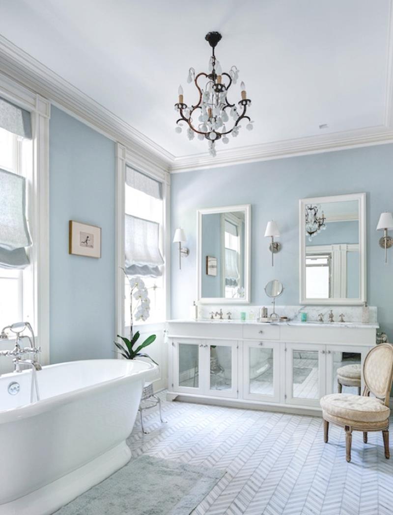 24 Beautiful Ideas for Master Bathroom Windows-8