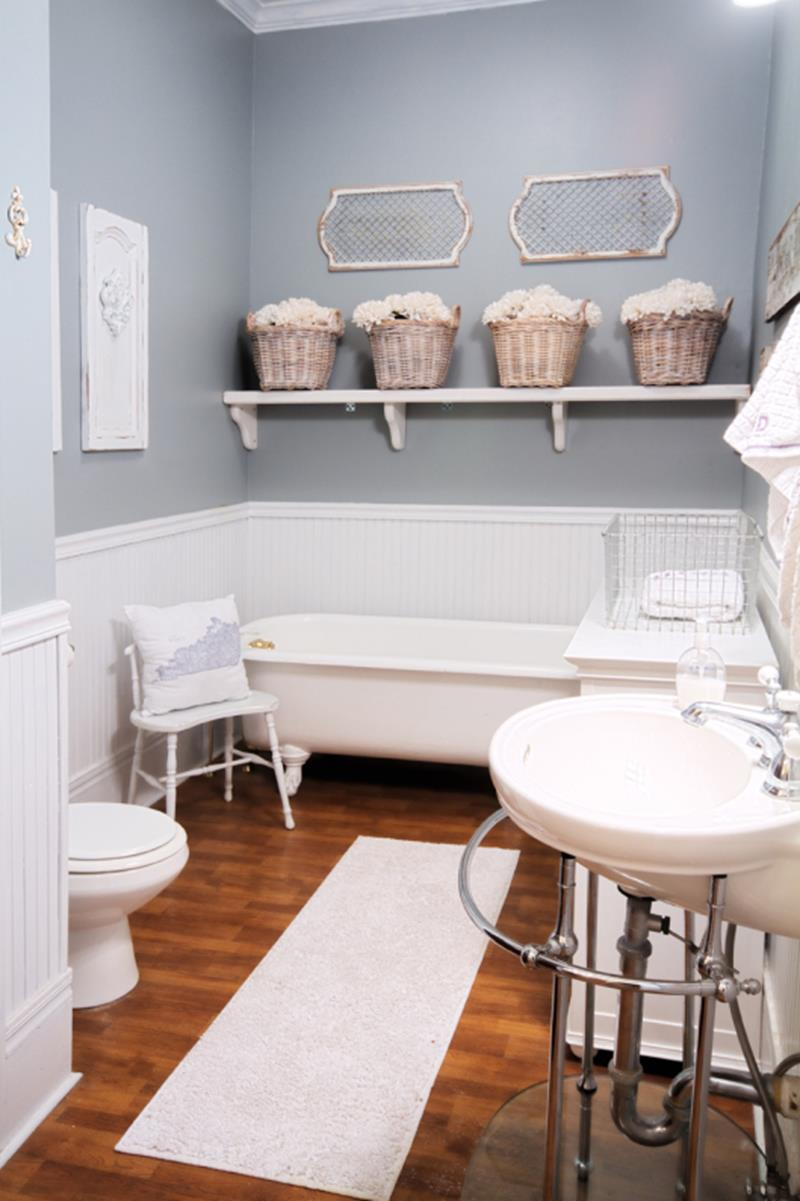 24 Pictures of Before and After Bathrooms with Cost-12a