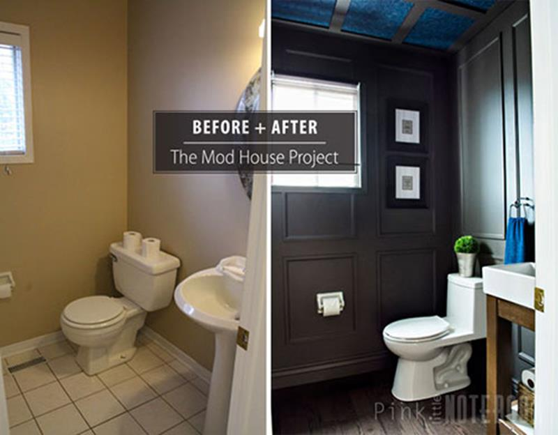 24 Pictures of Before and After Bathrooms with Cost-2