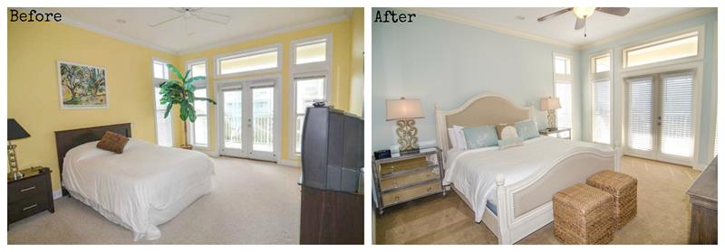 24 Pictures of Before and After Master Bedrooms with Cost-title