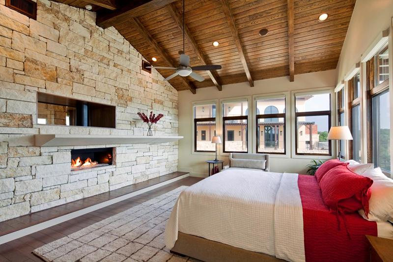 25 Amazing Stone Accent Walls-25
