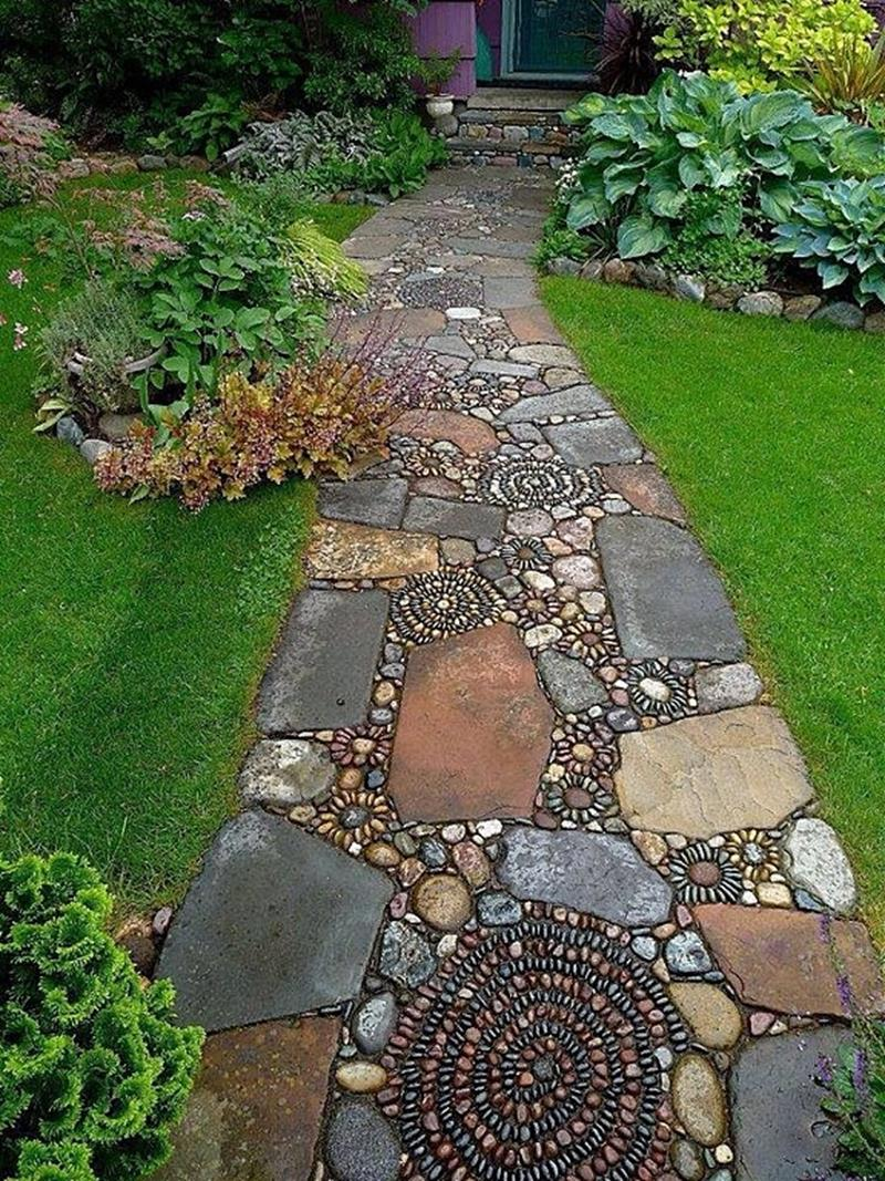 25 Beautiful Ideas for Garden Paths-1