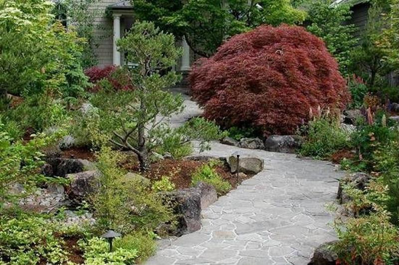 25 Beautiful Ideas for Garden Paths-11