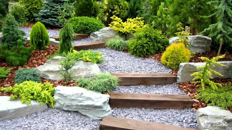 25 Beautiful Ideas for Garden Paths-21