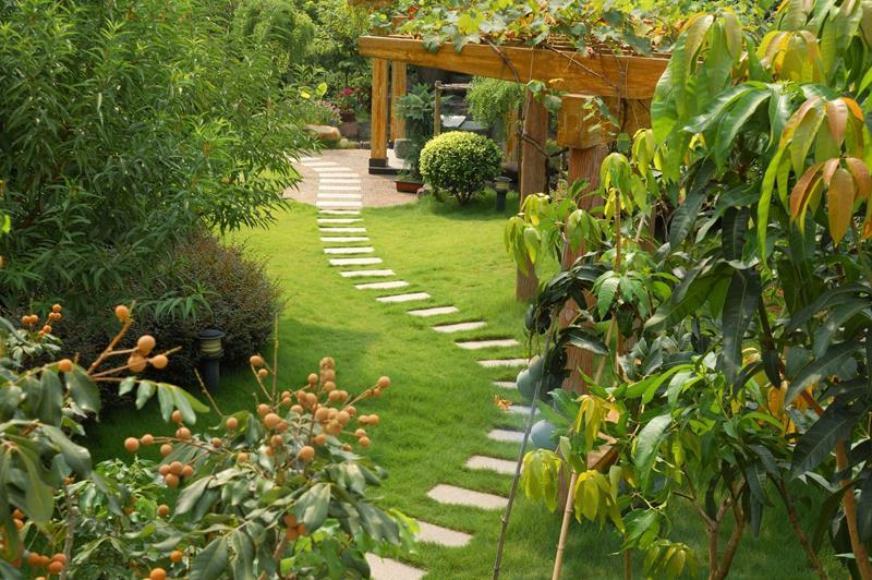 25 Beautiful Ideas for Garden Paths-25