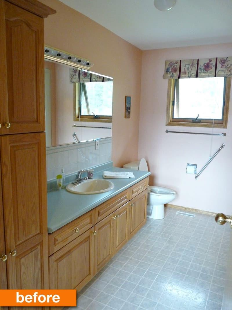 10 Amazing Before and Afters of Bathroom Remodels-9