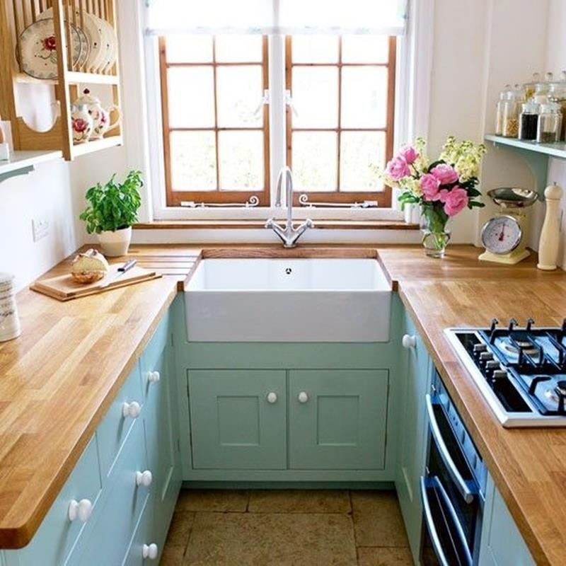 18 Stunning Small Kitchen Designs and Ideas-15