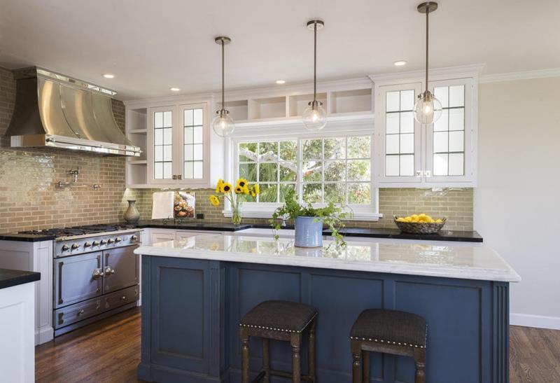 19 Brilliants and Beautiful Kitchen Backsplash Ideas-18