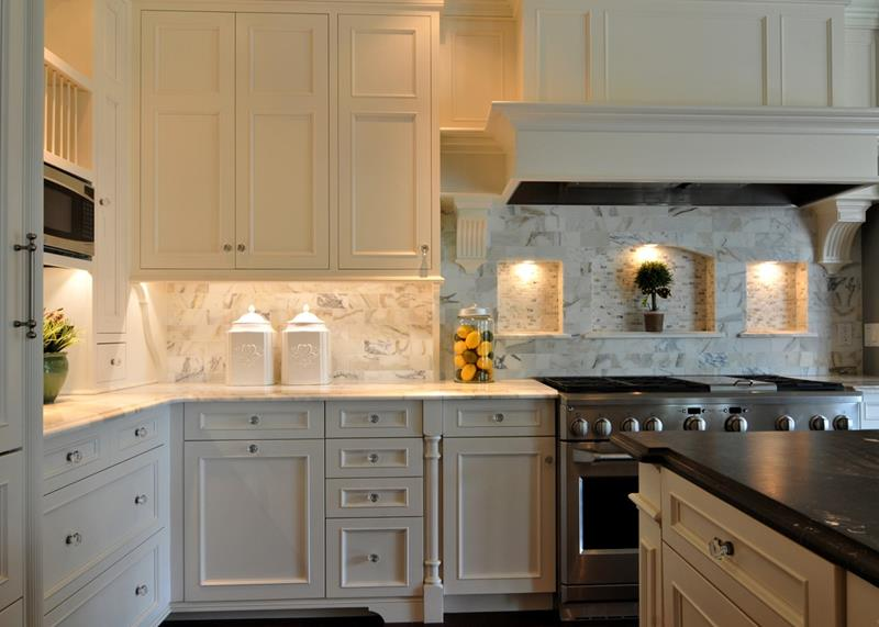 19 Brilliants and Beautiful Kitchen Backsplash Ideas-3