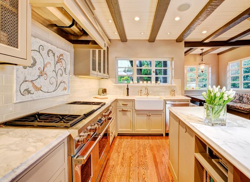 19 Brilliants and Beautiful Kitchen Backsplash Ideas-4