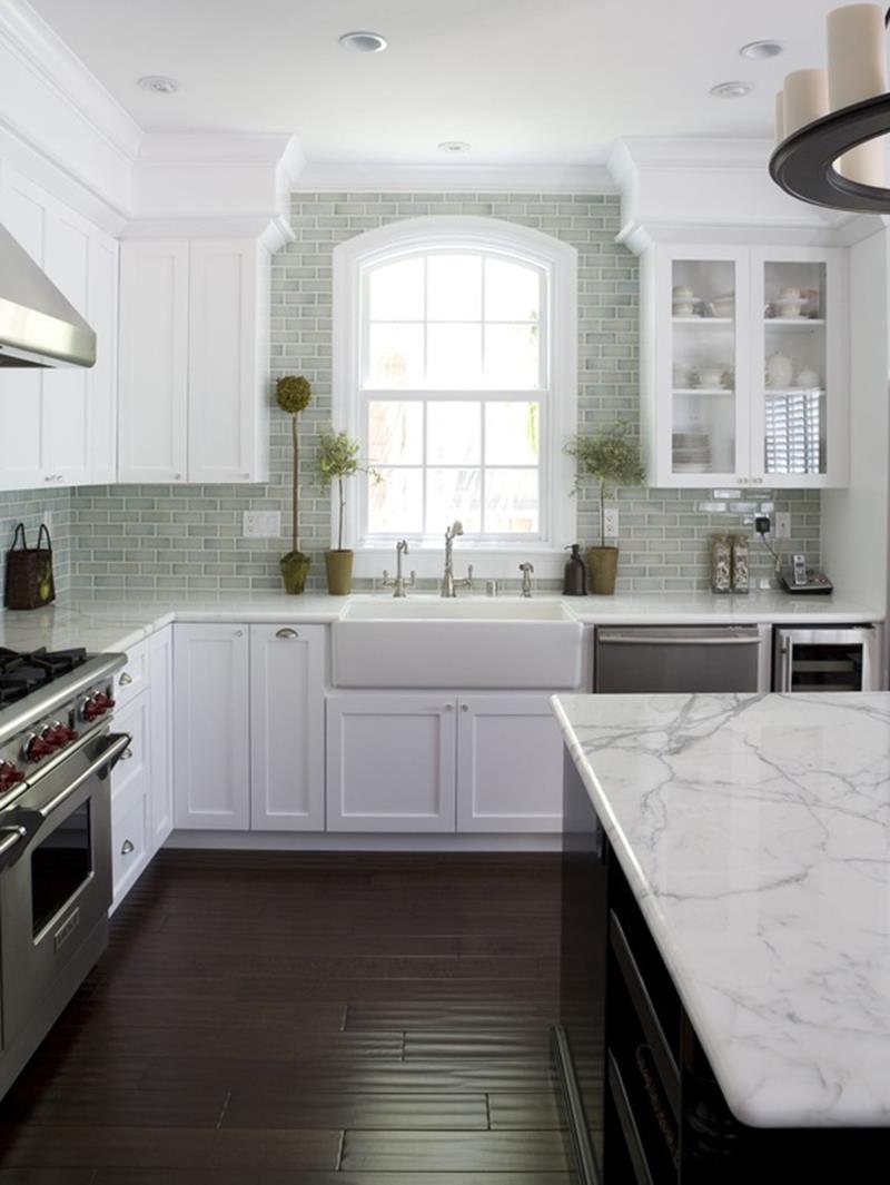 19 Brilliants and Beautiful Kitchen Backsplash Ideas-6