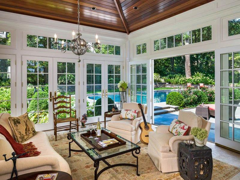 20 Amazing Sunroom Designs-19