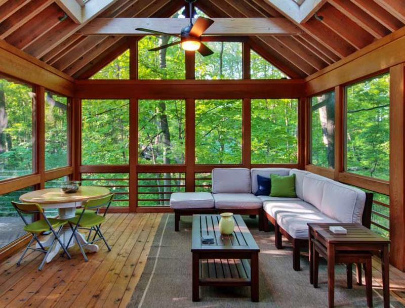 20 Amazing Sunroom Designs-2